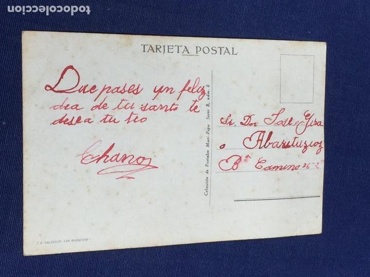 Postales: POSTAL MARI PEPA EN GUIPUZCOA MIRA TU EN VEZ AGUA CAYERA SIDRA MARIA CLARET VALVERDE SAN SEBASTIAN - Foto 2 - 150562266