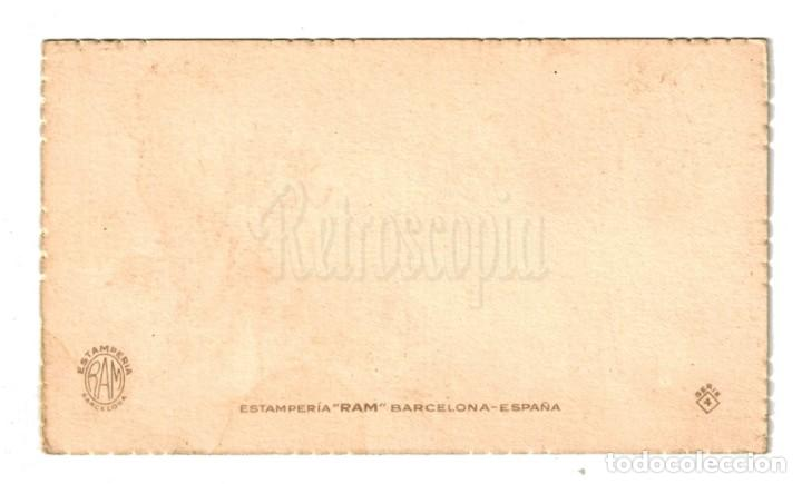 Postales: POSTAL FELICITACION MUCHAS FELICIDADES SERIE 4 ESTAMPERIA RAM AÑOS 40 - Foto 2 - 150831266