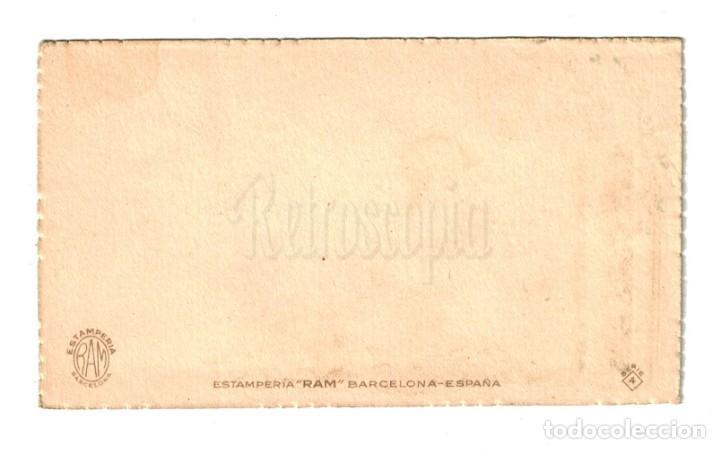 Postales: POSTAL FELICITACION MUCHAS FELICIDADES SERIE 4 ESTAMPERIA RAM AÑOS 40 - Foto 2 - 150831274