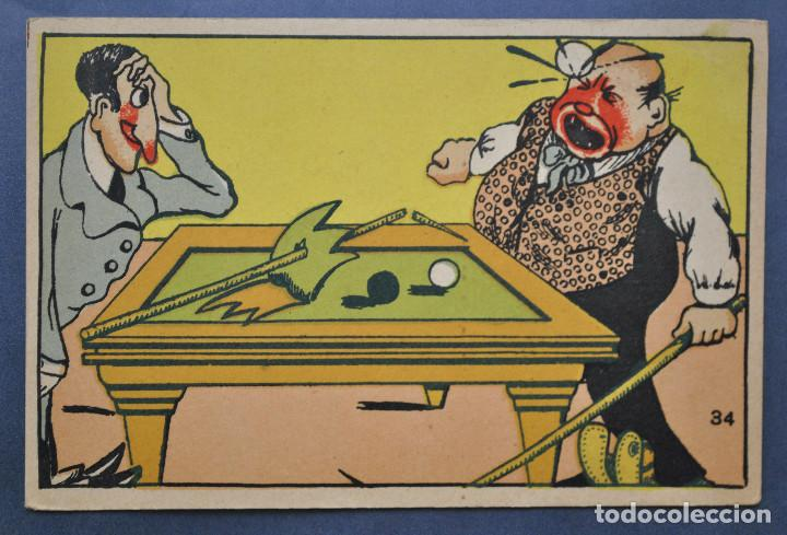 TARJETA POSTAL MARGARA Nº34. MADE IN SPAIN. AÑOS 50 NC (Postales - Dibujos y Caricaturas)