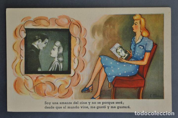 TARJETA POSTAL- DIBUJOS Y CARICATURAS.E.MORÁN Nº39 NC (Postales - Dibujos y Caricaturas)