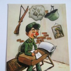 Postales: POSTAL MILITAR - SOLDADO - CHISTE - 1965 - ESCRITA SIN CIRCULAR. Lote 151594574