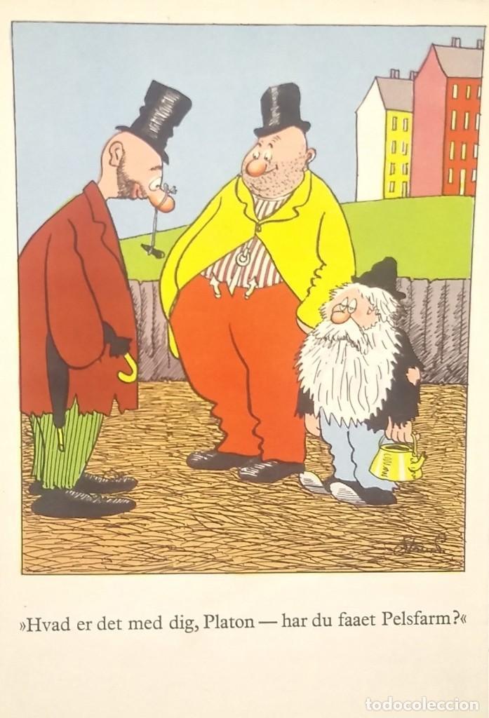 1952 CIRCULADA DESDE DINAMARCA. VER SELLO. (Postales - Dibujos y Caricaturas)