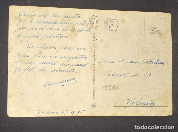 Postales: 1945 Si no fueras tan coqueta, sabrias tu obligación, que es limpiarme la chaqueta y remendarme... - Foto 3 - 151817062