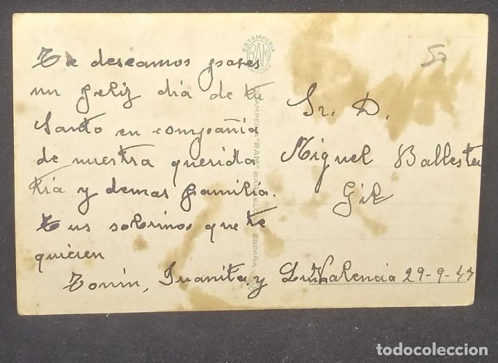 Postales: 1949 Alsina. Postal romántica - Foto 3 - 151819246