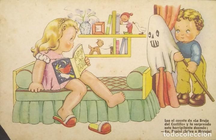 1947 ESTAMPERIA RAM. SERIE 27 (Postales - Dibujos y Caricaturas)