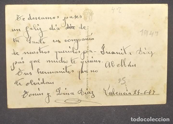 Postales: 1947 Estamperia Ram. Serie 19. Oscar Daniel - Foto 3 - 151820646