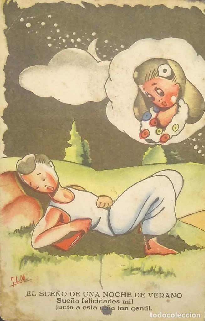 COLECCIÓN PELÍCULAS. SERIE 1. NUM. 1 (Postales - Dibujos y Caricaturas)