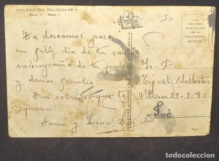 Postales: Colección películas. Serie 1. Num. 1 - Foto 3 - 151822902