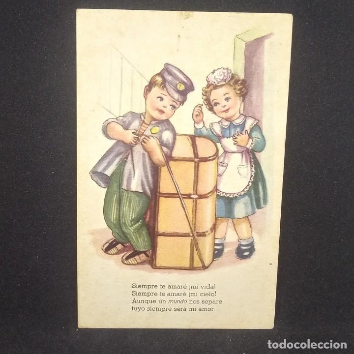 Postales: Melodías selectas. Serie E. Siempre te amaré. Serie 144 - Foto 2 - 151877642