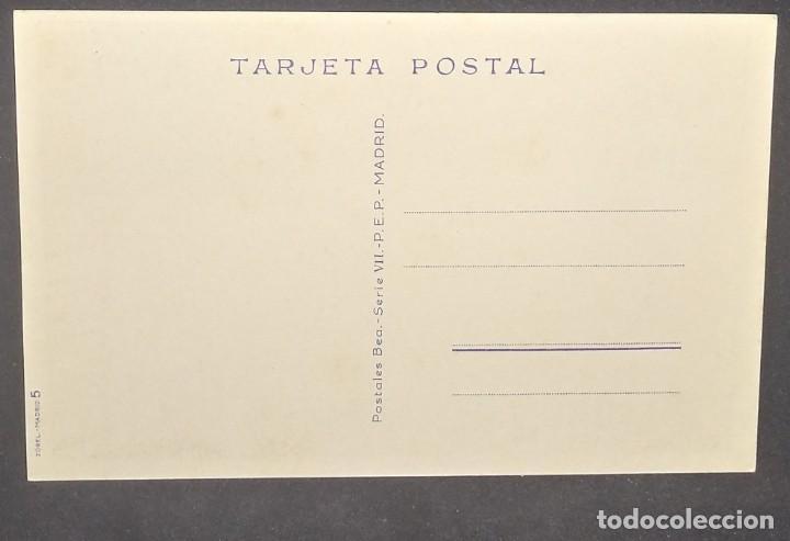 Postales: 1948 En mi casa mando yo. Ilustrada por LL.Gismero. Postales Bea. Serie VII - Foto 3 - 151879730