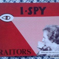 Postales: POSTAL POST CARD CARTE P. MARGARET MAGGIE THATCHER OJO EYE I SPY TRAITORS GRAN HERMANO BIG BROTHER ?. Lote 152097210