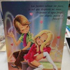 Postales: PAREJA DE NOVIOS. . Lote 152670642