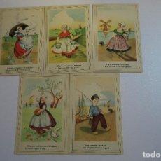 Postales: ANTIGUAS POSTALES CMB - SERIE 109. Lote 154182378