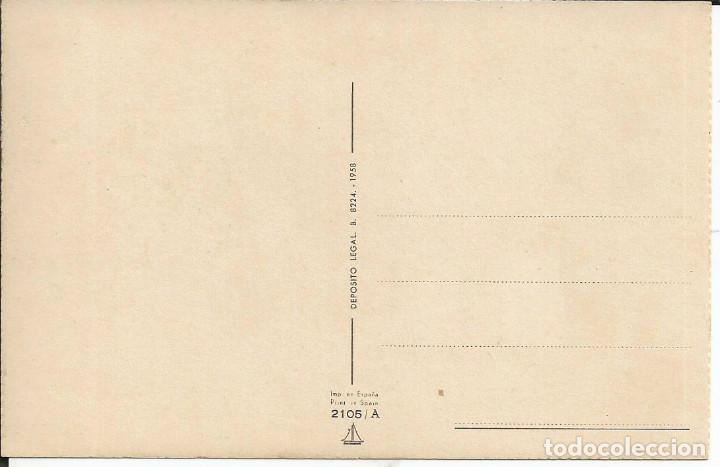 Postales: POSTAL M.R.G. ? (Mª ROSA GARCIA) - ED. ANCLA 2105/A - AÑO 1958 - Foto 2 - 155318934
