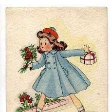 Postales: POSTAL ILUSTRADA ROSA LLONGUERES ( NIÑOS ) ED. JBR SERIE 5. ESCRITA. Lote 155856754