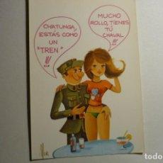 Postales: POSTAL HUMOR SOLDADO C Y Z -DIBUJO MUR. Lote 156751342