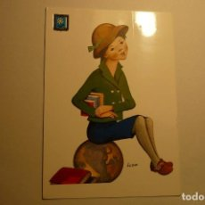 Postales: POSTAL NIÑA -DIBUJO ILDE CIRCULADA. Lote 156754210