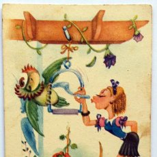 Postales: POSTAL ILUSTRACIÓN - EDICIONES LLAMA - SERIE 5 - ESCRITA. Lote 156879770