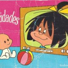 Postales: LA FAMILIA TELERÍN- POSTAL DE 1965. Lote 160615282