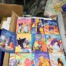 Postales: LOTE DE 10 POSTALES DIBUJOS ANIMADOS SERIE DISNEY. Lote 160639994