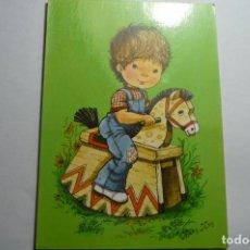 Postales: POSTAL NIÑO JUGANDO -SERIE MARY MAY - CIRCULADA. Lote 163322930