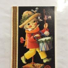 Postales: POSTAL. FELICITACIÓN NAVIDAD. ILUSTRACIÓN FERRANDIZ. DIPTICO. H. 1965?.. Lote 164710268