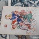 Postales: DIBUJO MADRE NIÑOS. Lote 164936854