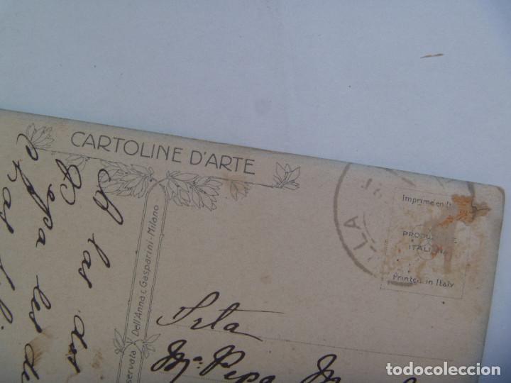 Postales: POSTAL CON DIBUJO DE MUJER ELEGANTE . PRINCIPIOS SIGLO. CIRCULADA DE SEVILLA A CHIPIONA - Foto 2 - 165117130
