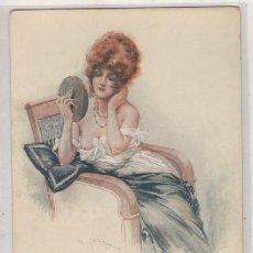 Cartes Postales: POSTAL ILUSTRADA MUJER DESNUDO O SIMILAR. SERI Nº 63 LES DEMI VIERGES. MAURICE MILLIERE. PARIS.. Lote 165190970