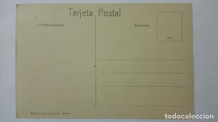 Postales: ANTIGUA POSTAL HUMORISTICA, LA PRIMERA CARAMBOLA, EDICION BOIX HERMANOS, MELILLA - Foto 2 - 165198014
