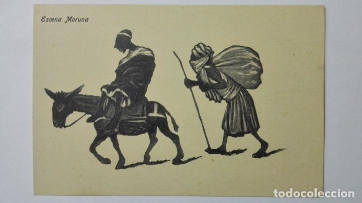 ANTIGUA POSTAL HUMORISTICA, ESCENA MORUNA, EDICION BOIX HERMANOS, MELILLA (Postales - Dibujos y Caricaturas)