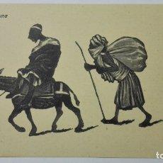 Postales: ANTIGUA POSTAL HUMORISTICA, ESCENA MORUNA, EDICION BOIX HERMANOS, MELILLA. Lote 165198106