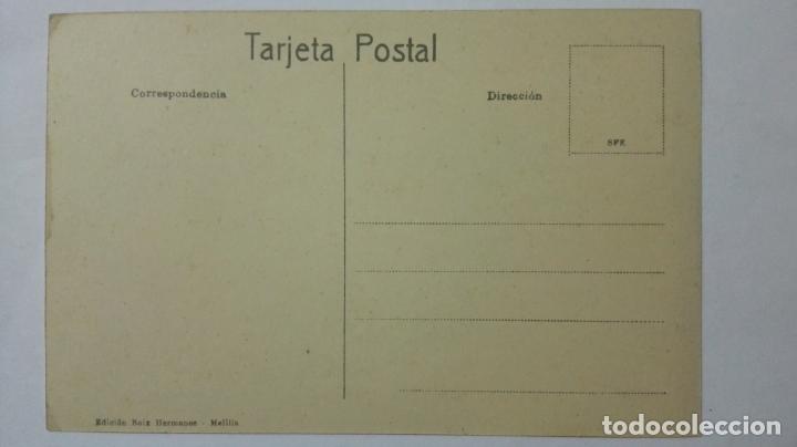 Postales: ANTIGUA POSTAL HUMORISTICA, EFECTOS DEL GRAMOFONO, EDICION BOIX HERMANOS, MELILLA - Foto 2 - 165198210