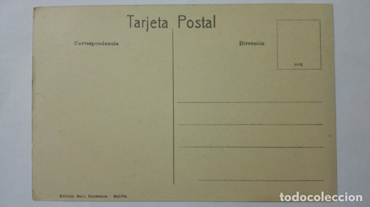 Postales: ANTIGUA POSTAL HUMORISTICA, FAMILIA RIFFEÑA, EDICION BOIX HERMANOS, MELILLA - Foto 2 - 165198406