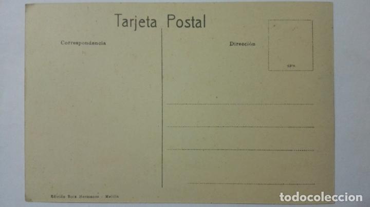 Postales: ANTIGUA POSTAL HUMORISTICA, PIROPEANDO UNA FARRUCA, EDICION BOIX HERMANOS, MELILLA - Foto 2 - 165199234