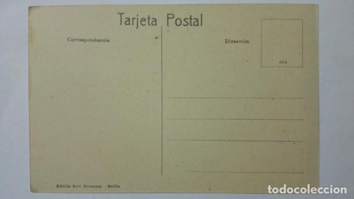 Postales: ANTIGUA POSTAL HUMORISTICA, MORO DE QUEDANA, EDICION BOIX HERMANOS, MELILLA - Foto 2 - 165199334