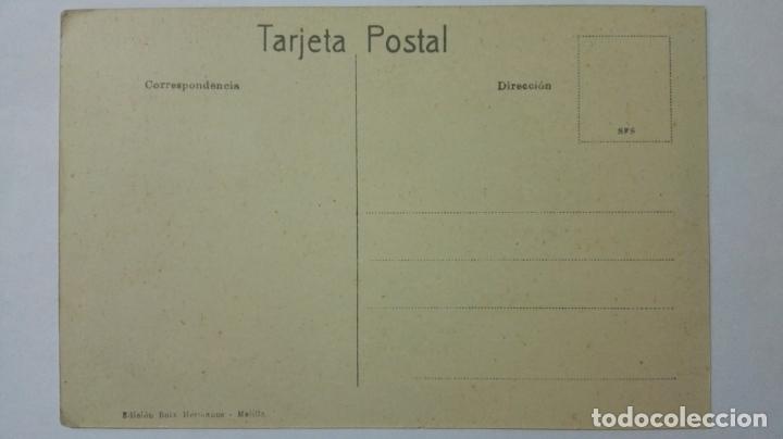 Postales: ANTIGUA POSTAL HUMORISTICA, VENDEDOR DE TABACO, EDICION BOIX HERMANOS, MELILLA - Foto 2 - 165199450