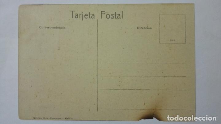 Postales: ANTIGUA POSTAL HUMORISTICA, TRANSPORTADOR DE VIVERES, EDICION BOIX HERMANOS, MELILLA - Foto 2 - 165200058