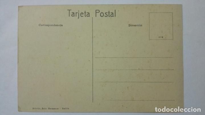 Postales: ANTIGUA POSTAL HUMORISTICA, VENDEDOR DE GALLINAS, EDICION BOIX HERMANOS, MELILLA - Foto 2 - 165200382