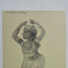 Postales: ANTIGUA POSTAL HUMORISTICA, PROFESORA EN TANGO, EDICION BOIX HERMANOS, MELILLA. Lote 165201006