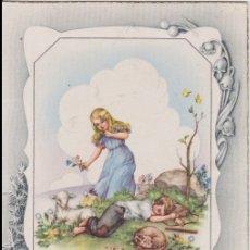 Postales: ILUSTRADOR: CIMA, FELICIDADES - CIMA 516 - ESCRITA 1948. Lote 165625762