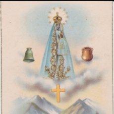 Postales: POSTAL RELIGIOSA SANTA MARIA DE NURIA - EDITA DAVID Nº 27 - S/C. Lote 165626230