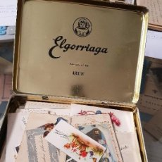 Postales: GRAN LOTE POSTALES COMICAS TARJETAS FELICIDADES CAJA ELGORRIAGA IRUN. Lote 166087326
