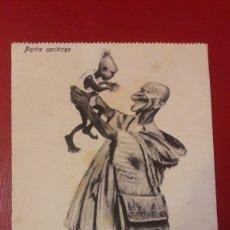 Postales: PADRE CARIÑOSO ..BOIX HERMANOS MELILLA. Lote 166319844