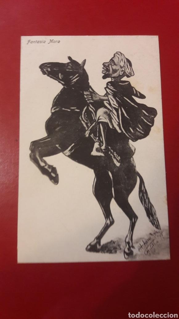 FANTASÍA MORA EDI.BOIX HERMANOS MELILLA (Postales - Dibujos y Caricaturas)