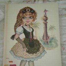 Postales: -75273 POSTAL DIBUJO NIÑA EN TRAJE REGIONAL, ILUSTRACION ELISA, N° 2058/1, ED. VIKINGO. Lote 166756026