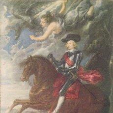 Postales: Nº 56 EL CARDENAL INFANTE D. FERNANDO DE AUSTRIA RUBENS MUSEO DEL PRADO MADRID . Lote 167599188