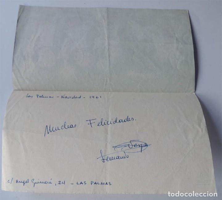 Postales: FERRANDIZ POSTAL NAVIDAD / SUBI-DIZ ( S-1512/3 ) AÑO 1958 / DIPTICO - Foto 2 - 167724696