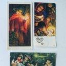 Postales: FERRANDIZ / 3 POSTALES NAVIDAD ( AÑOS 60 - 70 ) 2 RECORDATRIOS COMUNION ( AÑOS 59 - 63 ). Lote 167725516